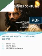 04 - Heridas Contusas y Valor Medico Legal