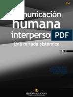 modelo sistemico Comunicación humana interpersonal una mirada sistémica