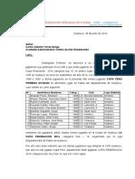 Informe Sobre Jugadores del CAR que estan jugando en Ligas- Prof. Carlos Torres Burga