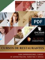 Folletos-CursosRestaurantesEMCEBAR
