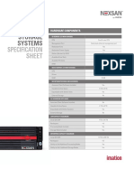 Assureon Spec Sheet Template