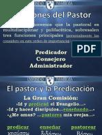 FUNCIONES DEL PASTOR