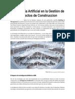 Inteligencia Artificial en la Gestión de Proyectos de Construccion.pdf