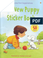 The New Puppy Sitcker Book