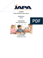 TAREA 6 DE PSICOLOGIA EDUCATIVA