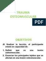 10-Trauma OSTEOMUSCULAR