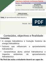 TEMA III APROVEITAMENTO HIDROELECTRICA-1