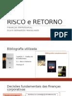 2. FINANÇAS I - RISCO e RETORNO - Aula 2