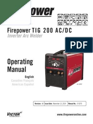 Firepower 1442-0025 Tig Foot Control 15 8-Pin
