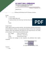 ARK 6 Ambulans surat undangan, daftar hadir, dan notulen panduan dan spo.docx