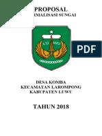PROPOSAL NORMALISASI  SUNGAI KOMBA.docx