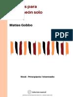 Bandoneon Solo Vol. 1 - Matias Gobbo