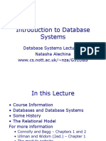lecture1 [Introduction to Database Systems by Prof. Dan Suciu]