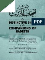 Distinctive Signs of companions of Hadeeth.pdf