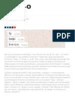B-E-I-J-O - Blog da Companhia das Letras