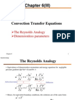 Convection Transfer Equations