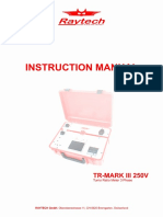 Instruction Manual TR-MARK III 250V (TQL ).pdf