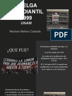 HUELGA ESTUDIANTIL 1999 UNAM