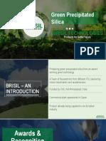 Brisil - Green Precipitated Silica - Intro