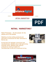PPT OF RELIANCE DIGITAL