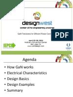 DesignWest 2013 GaN Seminar