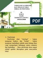 Ethnobotanical history.pptx
