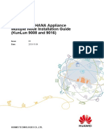 Huawei SAP HANA Appliance Multiple Node Installation Guide (KunLun 9008 and 9016) 09