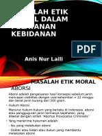 MASALAH ETIK MORAL DALAM PELAYANAN KEBIDANAN - Copy