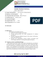Reading Program_Program Proposal