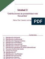 Unidad 3. Distribuciones más frecuentes
