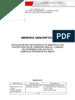 PROYECTO INSTALACION DE MANIFOLD DE CARGA EN COMPLEJO REFINADOR DE AMUAY.doc