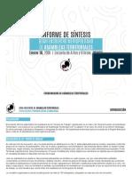 INFORME DE SINTESIS - PRIMER ENCUENTRO CAT (febrero de 2020)