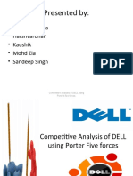 Competitive Analysis of DELL Using Porter Five Forces Final