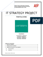 ITstrategy Project - Pantaloons