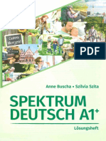Spektrum Deutsch A1 Loesungsheft