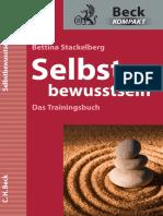 Bettina Stackelberg - Selbstbewußtsein - Das Trainingsbuch