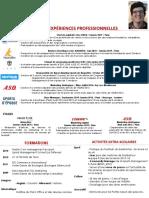 CV de Benoit Cochet