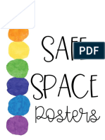 SafeSpacePosters