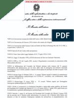 Ministero Infrastrutture Regolamento Decreto