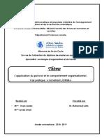 L'application du pouvoir et le comportement organisationnel.pdf
