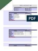 PGSH02_Daily Activity Sheet