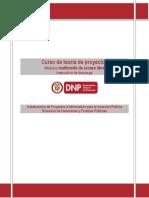 Instructivo para la descarga curso Teoría de Proyectos_DNP_ESAP