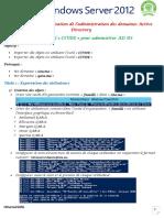Module 4-TP01-Utilisation de loutils CSVEDE pour administrer AD DS