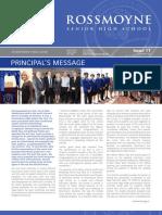 2013 Issue 11 Rossmoyne SHS News