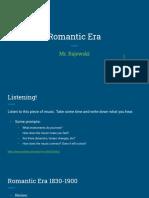 romantic era composers