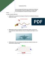 Cuestionario de Física ondas