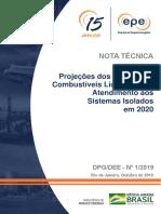NT-DPG-DEE-01-2019_Projeção Preços Combustíveis para o SI_2019.10.09