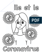 Cécile et le Coronavirus (en français)