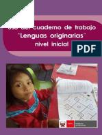 Guía para el Uso del cuaderno de trabajo Lenguas originarias nivel inicial.pdf
