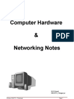Hardware & Networking Notes